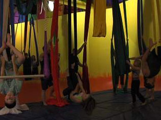 Aerial Yoga Offers Unique Fitness Options for New Year's Resolutions