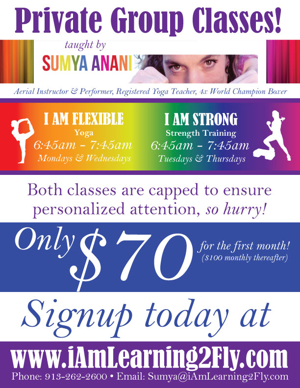 I AM STRONG & I AM FLEXIBLE Begins August 5th!
