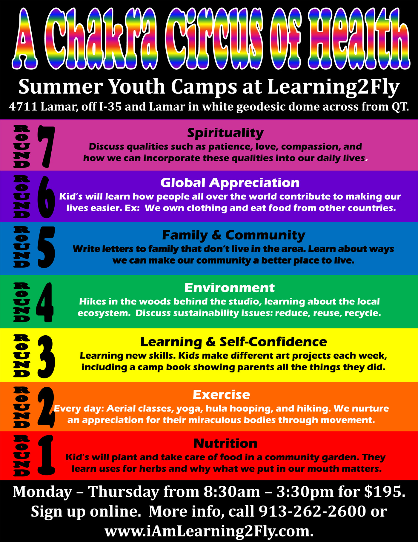Youth Aerial, Circus, Health, & Art Camp – Every Week This Summer! Summer Break Camp!