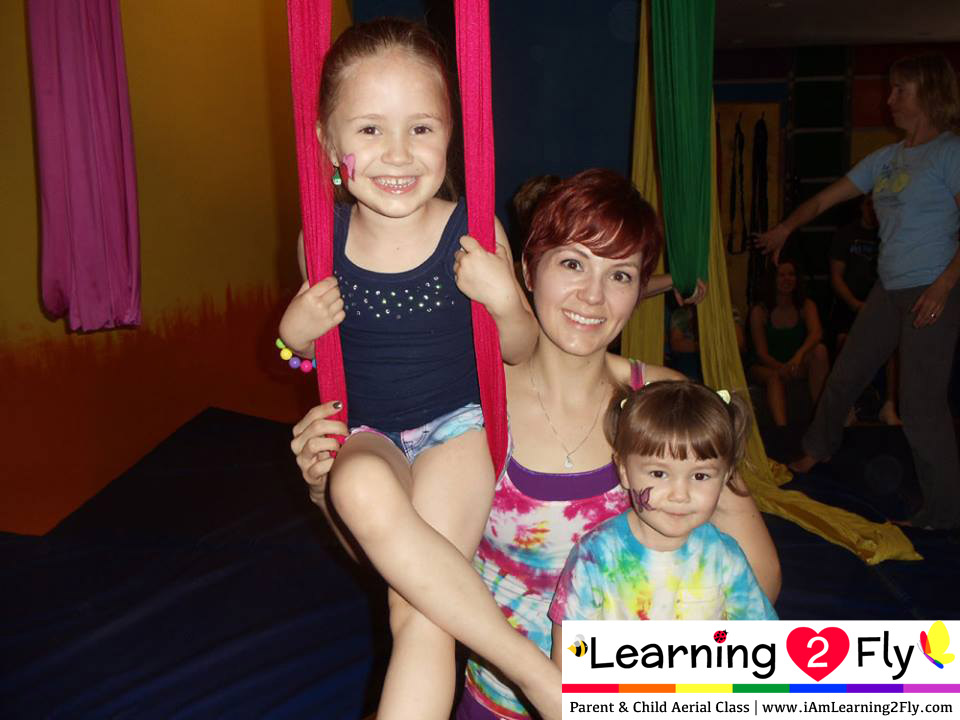 Parent and Child Aerial Class – September 20, 2014