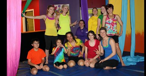 A Chakra Circus of Health Holiday Aerial Show and Potluck