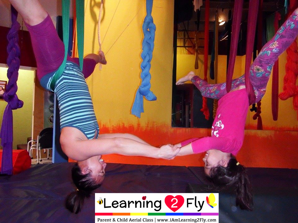 PARENT & CHILD AERIAL CLASS SUNDAY, JANUARY 11, 2015
