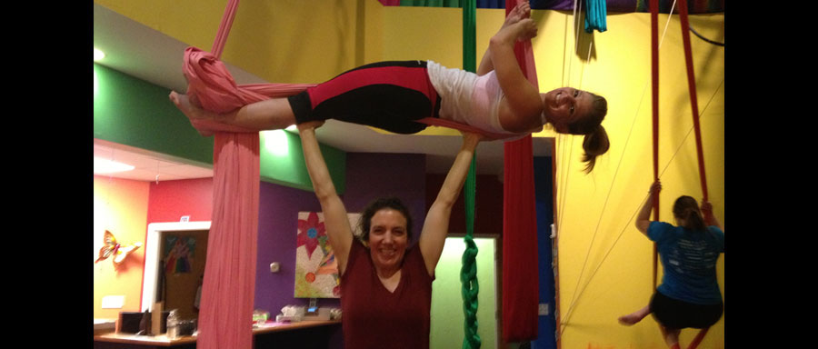 New Intro to Aerial Silks 7 Week Session Starts May 11th, 2015