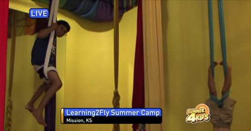 "Kids Learn to ""Fly"" and Soar to New Heights at Camp"