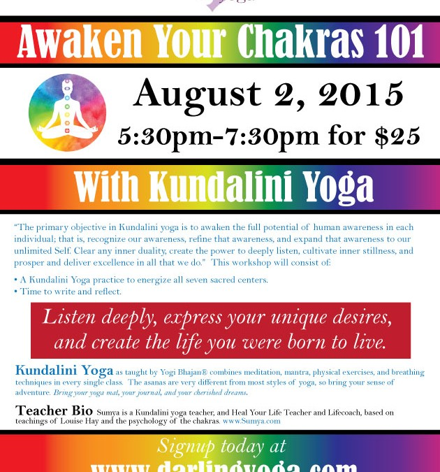 Awaken Your Chakras 101