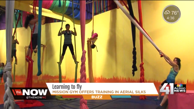 Aerial workouts new trend in Kansas City