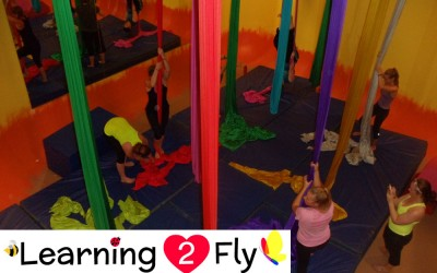 New Intro to Aerial Silks 7 Week Session Starts September 14, 2015!