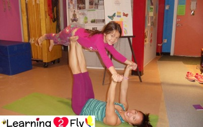 Parent & Child Aerial Class – One Sunday a month!