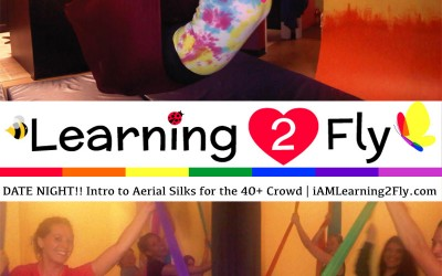 Intro to Aerial Silks for the 40+ Crowd – 5 Week Series Starts February 15