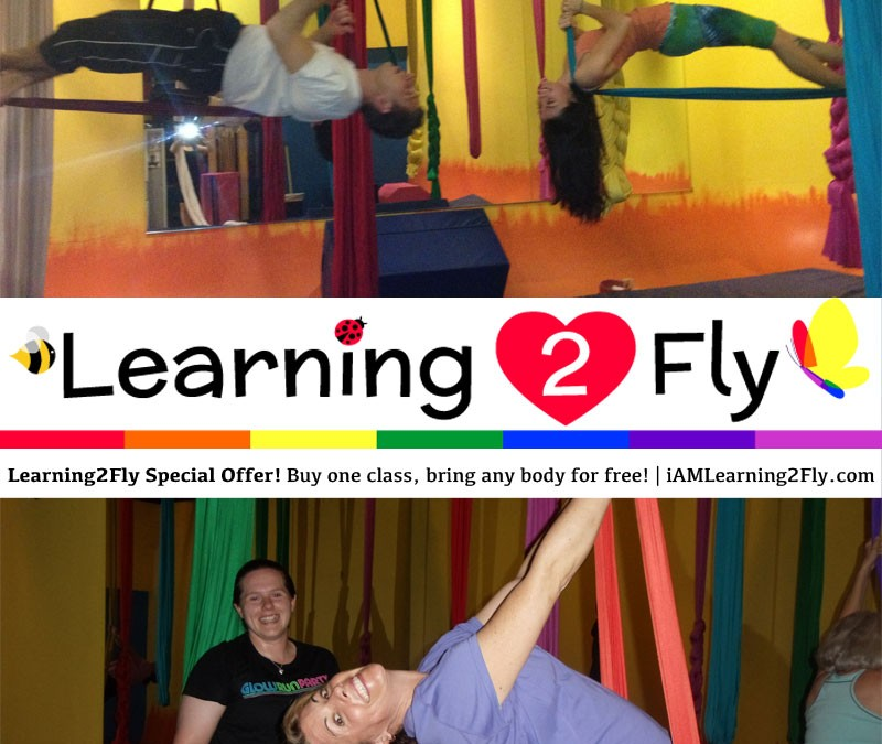 Learning2Fly Special Offer! Buy one class, bring any body for free!